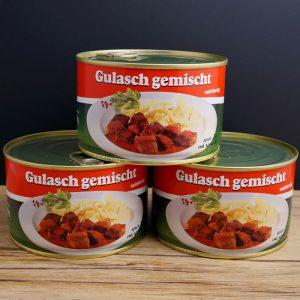 Gulasch-gemischt-Konserve