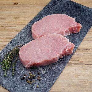 Schweinerückensteak
