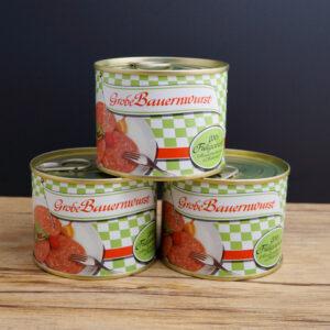 Grobe Bauernwurst_Konserve