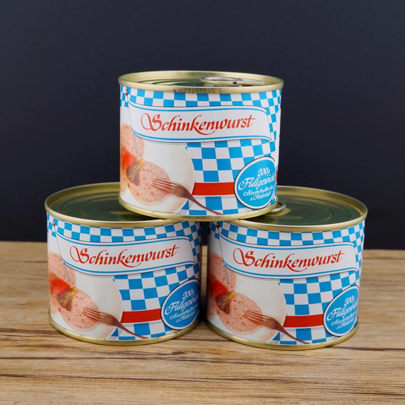 Schinkenwurst 200 g Dose