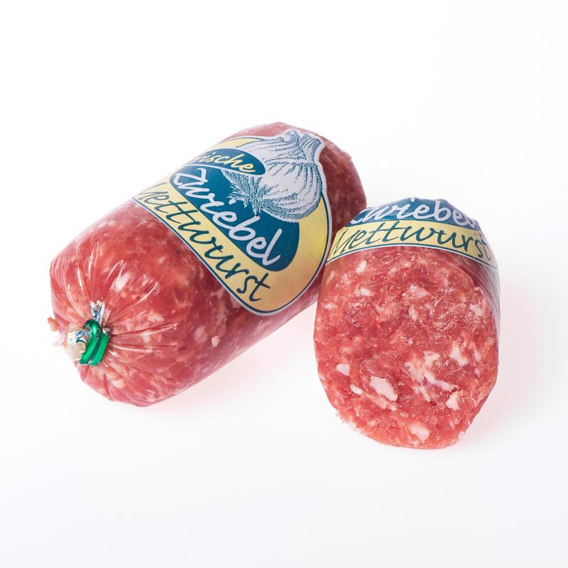 Zwiebelmettwurst Portionswurst
